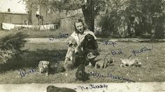 Virginia Anderson And Cocker Spaniels | by Namey McNamerson