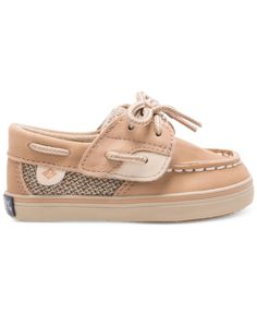 Sperry Baby Girls' Bluefish Crib Boat Shoes
