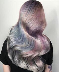 Stunning! 🌈  Hair by @guy_tang  Find your l👀k on www.hospii.com  Sign up for early access!  #hospii#hair#hairstylist#olaplex #ombre #californiahairstylist  #hairstyle#behindthechair#hairgoals#haircolor #hairofinstagram #hairoftheday#hairdesign #beauty#fashion#blogger #style#design#followus#behindthechair#follow#americansalon#modernsalon#pastelhair#instagram#daily#ootd#chicagohair#bostonhairstylist#nyhair