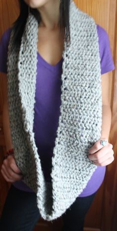 Wicked Cozy Infinity Scarf    BlackWolfWovens