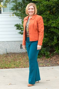 Savvy Southern Chic: Rust and teal