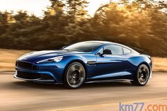 Aston Martin Vanquish Vanquish S Gama Vanquish 2015 Coupé Ming Blue Body paint Exterior Lateral 2 puertas