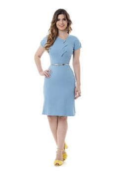 Best 12 Chic and casual outfits ideas for women fashion ideas Office Dresses For Women, Dresses For Work, Clothes For Women, Classy Dress, Classy Outfits, Casual Outfits, Best Prom Dresses, Short Dresses, Blazer Dress