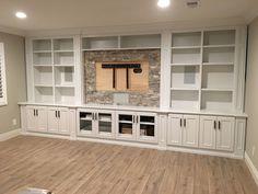 Trendy home renovation basement built ins - Modern Ikea Built In, Built In Shelves, Built Ins With Tv, Built In Tv Wall Unit, Wall Shelves, Built In Tv Cabinet, Shelving, Living Room Built Ins, Living Room Tv