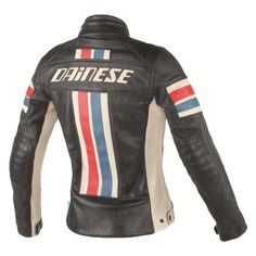 A refined version of a Dainese classic but in a cut for women, the Dainese Lola D1 Women's Leather Jacket is produced with refined full-grain vintage leather that has undergone special treatments to achieve an attractive appearance and a particularly soft feel. Elbow and shoulder protection is provided by CE-certified, removable soft Pro-Armor guards, making the Dainese Lola D1 Women's Leather Jacket as functional as it is fashionable.