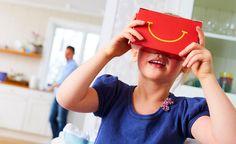 Un Cardboard dans le Happy Meal de McDonalds !