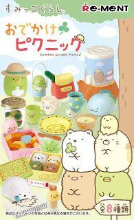 Japan World: Sumikko Gurashi - Odekake Picnic Tool Set 8 Pack
