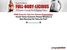 Product Name: Flavia Del Monte's Weight Loss and Fitness For Women - Get A Flawless Female Figure Cl 5 Day Workouts, Diet Plans That Work, Major Muscles, Workout Equipment, Online Security, Muscle Groups, How To Get, How To Plan, Workout Plans
