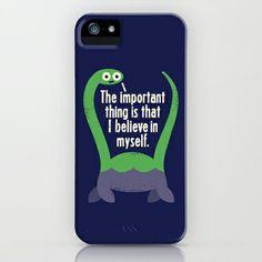 Lock Ness Monster - Myth Understood iPhone & iPod Case by David Olenick - $35.00