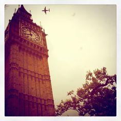 London morning via Burberry