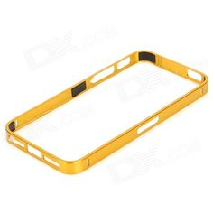Brand: S-What; Quantity: 1 Piece; Color: Golden; Material: Aluminum Alloy; Compatible Models: Iphone 5 / Iphone 5S; Type: Bumper Cases; Packing List: 1 x Bumper frame; http://j.mp/1ljAoMt