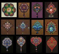 Lisa Binkley: Ornament designs