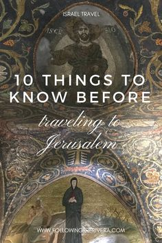 10 things to know before traveling to Jerusalem. Be prepared with these brief yet descriptive #traveltips on #traveling to #Jerusalem #Israel for the first time.