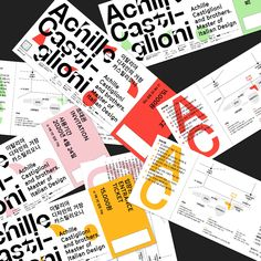 Everyday Practice designs an honourable identity for the Achille Castiglioni exhibition Graph Design, Layout Design, Poster Competition, Art Book Fair, Ticket Design, Photo Images, Museum Of Contemporary Art, Editorial Design, Dark Side