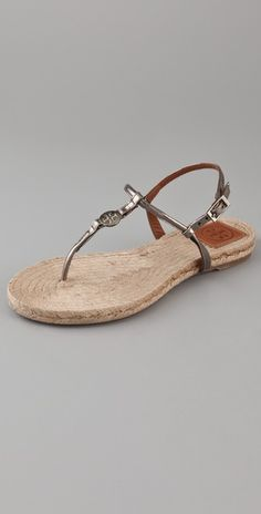 tory burch flat espadrille sandals