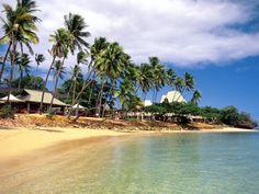 FijiThe 411: Fiji has 333 tropical islands, most of them are uninhabited. The islands have sandy beaches, rainforests, villages and a main city called Nadi.Celeb-Worthy Hotels: Shangri-La, Turtle Island, The Wakaya ClubA-List Visitors: Pierce Brosnan, Michelle Pfeiffer, Russell Crowe, Nicole Kidman, Jessica Simpson, Bill Gates