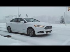 Dashing Through the Snow, Driverless - http://www.psfk.com/2016/01/driverless-car-tests-in-snow-mcity-ford-autonomous-vehicles.html