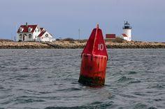Goat Island, Maine  at Cape Porpoise Harbor, Kennebunkport.