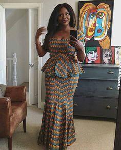 African American Fashion Blazer And Skirt African Fashion Ankara, Ghanaian Fashion, Latest African Fashion Dresses, African Dresses For Women, African Print Dresses, African Print Fashion, Africa Fashion, African Attire, African Wear