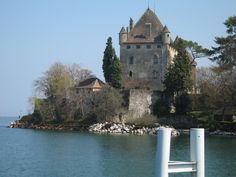 Yvoire -French medieval village - France, on Lake Geneva. and I bought a lovely antique candlelabra here ! Best Travel Deals, Travel Tips, Yvoire, Lake Geneva, Crepes, Medieval, France, Good Things, Mansions