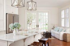 Custom kitchen renovation including sitting room, custom french doors, and patio renovation