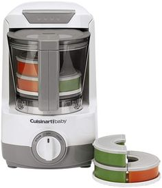 Cuisinart Baby Food Maker and Bottle Warmer...if I ever have another I want this! I made so much food the hard, long way!
