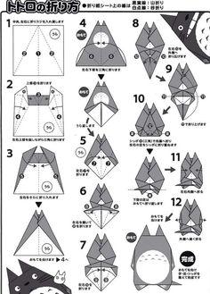 mon voisin totoro origami