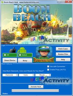 New Boom Beach hack is finally here and its working on both iOS and Android platforms. This generator is free and its really easy to use! Boom Beach Game, Game Boom, Beach Play, Beach Hacks, Play Hacks, App Hack, Private Server, Game Resources, Android Hacks