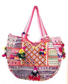 Vintage banjara bag gypsy tribal ethnic tote by ROYALEJAYPORE, $99.00 #fantacy #fancy #ecommerce http://www.fancyclone.net