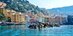 Panorama von Camogli, #Genua