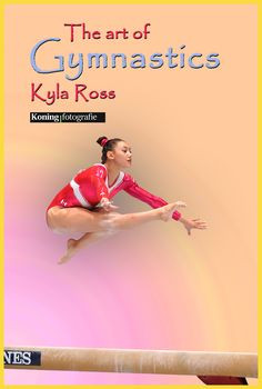 Kyla Ross (USA) op Balk tijdens het WK 2013 in Antwerpen. Kyla won zilver ALL Round. Kampioen All Round werd Simone Biles(USA) Let bij deze foto eens op de spanning van haar rechterbovenbeen!