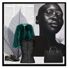 """Alek Wek"" by aliakolli ❤ liked on Polyvore"