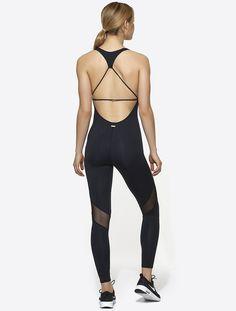 Strappy Bodysuit in Black, $195 | Alala | Luxury Womens Activewear | Style meets Sport