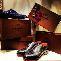 Church's shoes & Jupe by Jackie's bow-tie. http://www.treatdressing.jp/ttd/mens/index.html