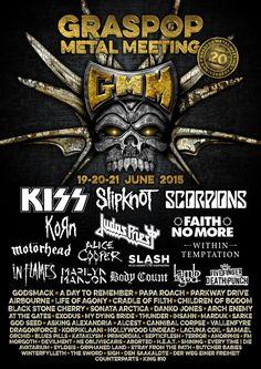 Graspop Metal Meeting 2015, 20 years