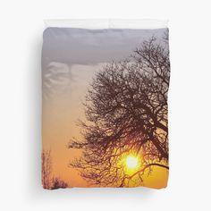 Romantic Sunset - Duvet cover - by vampyba