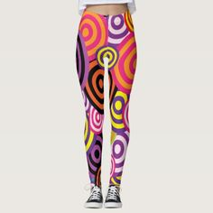 Abstract leggings design 56 - original gifts diy cyo customize