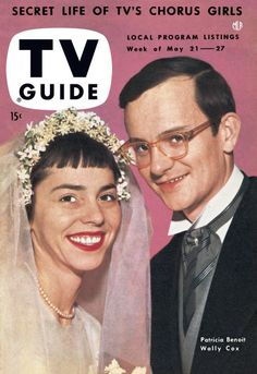 TV Guide, May 21, 1954 - Patricia Benoit and Wally Cox