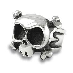 Anillo de calavera LOUIE en plata por SilverBeyondOrdinary en Etsy