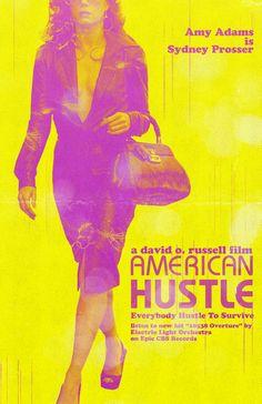 American Hustle - Custom Movie Posters