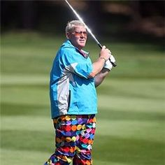 John Daly will forever be a man amongst men. His long ball and don't care attitude is what we appreciate most about him. But we just don't understand why he went left when we went right? #Fail