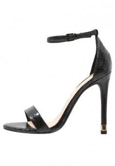 Topshop - RUBY - High Heel Sandaletten - black