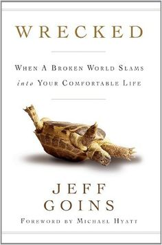 Wrecked by Jeff Goins Book Tweets | Sonia Twitter