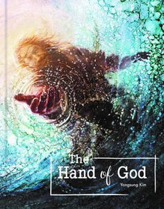 The Hand of God painting depicts Jesus reaching into the water to save Peter from drowning - Yongsung Kim Jesus Wallpaper, Lion Wallpaper, Wallpaper Quotes, Images Of Christ, Pictures Of Jesus Christ, Religious Paintings, Religious Art, Jesus Walk On Water, Path To Heaven