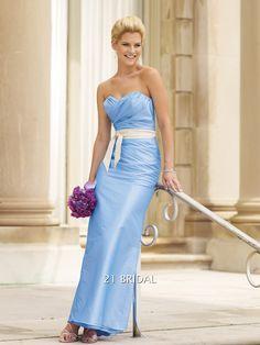 A-line Taffeta Draped Sweetheart Ankle-length Sleeveless Bridesmaid Dress