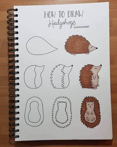 Step-by-Step Doodle Tutorials Make Complex Subjects Easy to Draw, sketches easy simple Step-by-Step Doodle Tutorials Make Complex Subjects Easy to Draw Cute Easy Drawings, Easy Pencil Drawings, Doodle Drawings, Pencil Art, Simple Doodles Drawings, Simple Animal Drawings, Bullet Journal Writing, Bullet Journal Ideas Pages, Drawings With Meaning