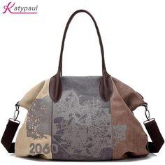06ed8175c0 Bolsa Feminina 2017 Casual Travel Woman Canvas Bags Woman Messenger Bags  For Women Handbag Shoulder Bags Women Brand Designer