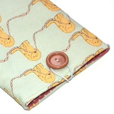 Sausage Dogs simple Kindle pouch by pennydogillustration on Etsy, $15.00