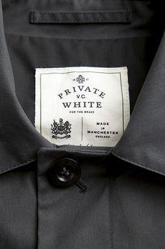 "PRIVATE WHITE V.C. ""THE COLUMBO"" MAC JACKET"