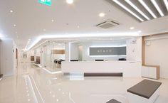 으뜸안과 병원 인테리어 Medical Office Design, Pharmacy Design, Healthcare Design, Clinic Interior Design, Clinic Design, Corporate Interiors, Office Interiors, Concept Board Architecture, Modern Hospital